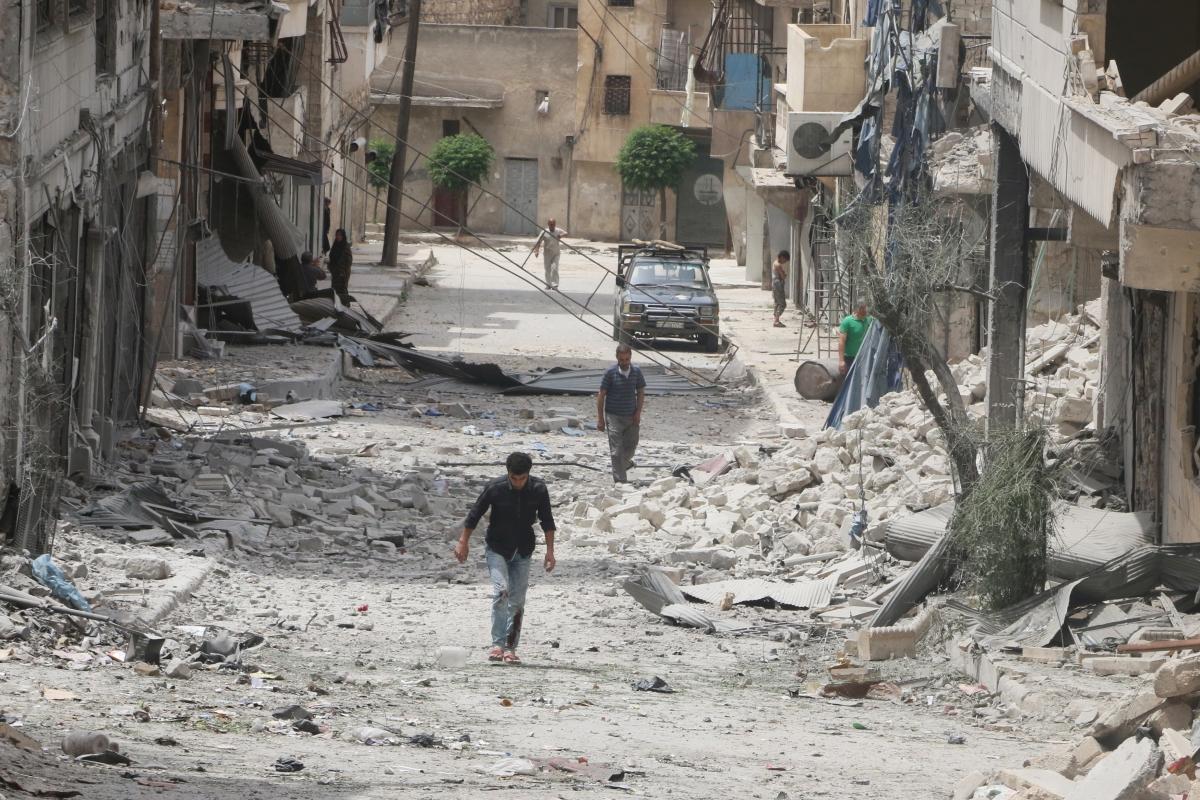 Syria Aleppo ceasefire