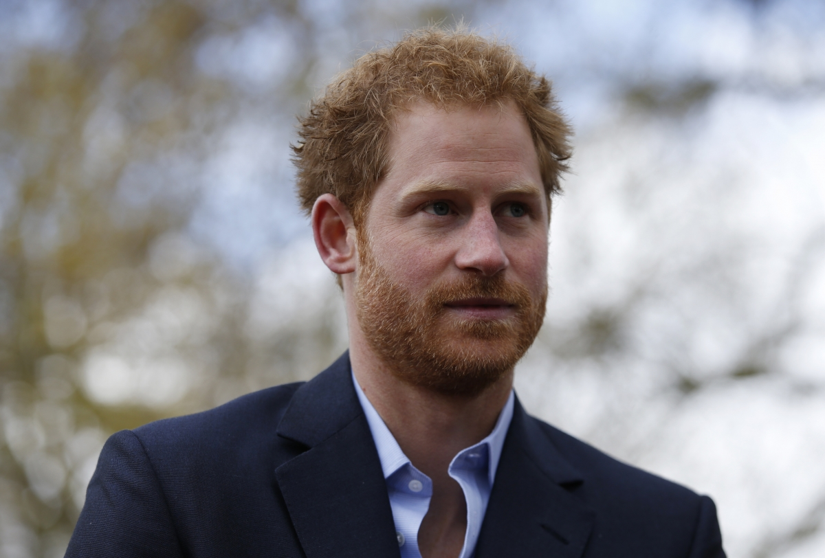 Prince Harry People interview