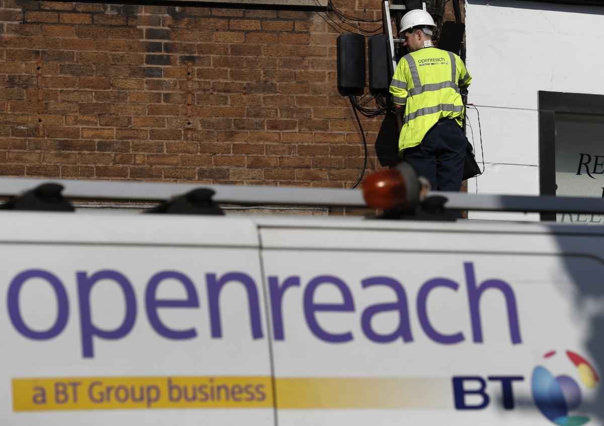 BT plans to lay ultrafast fibre-optic broadband to 2 million premises replacing the ageing copper wire