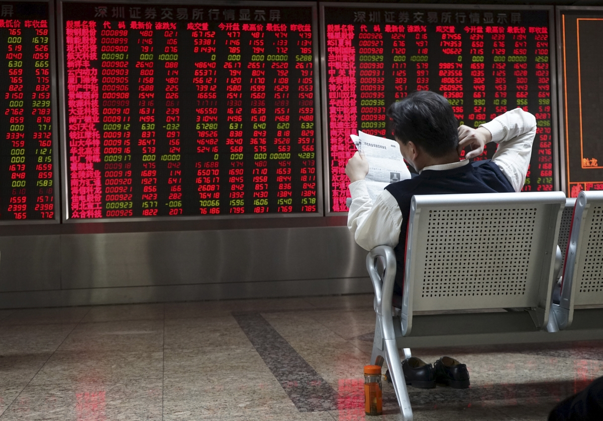 Asian markets: China Shanghai Composite slips amid a slowdown in its services sector