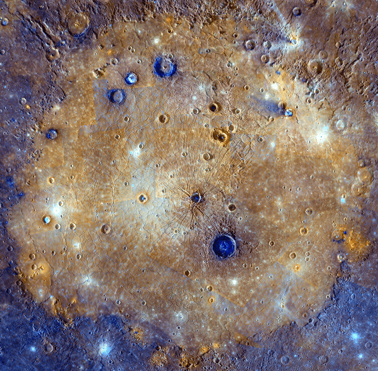 Mercuy's Caloris basin