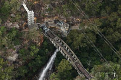 Sydney aerial photos Appliances Online blimp