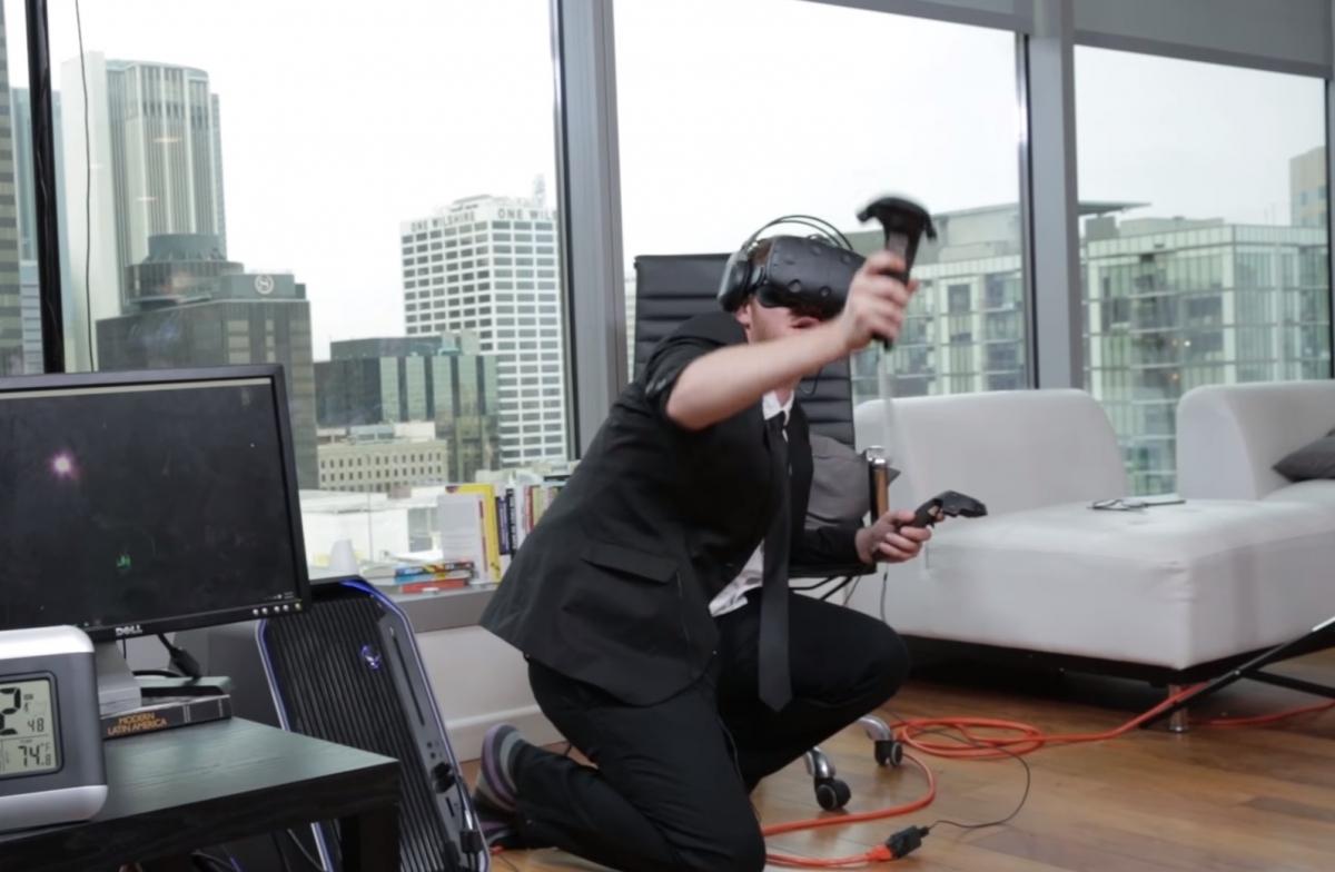 Derek Westerman VR World Record