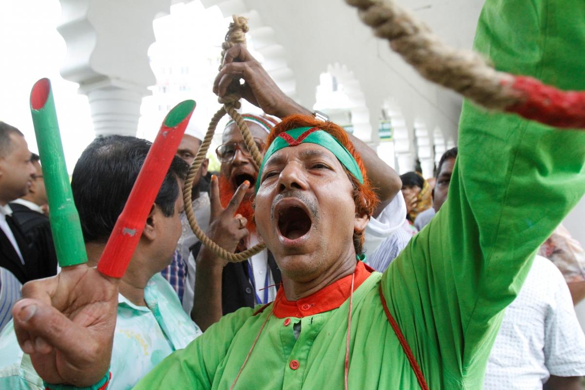 Bangladesh protesters