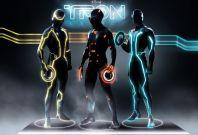 The futuristic Tron: Legacy suits