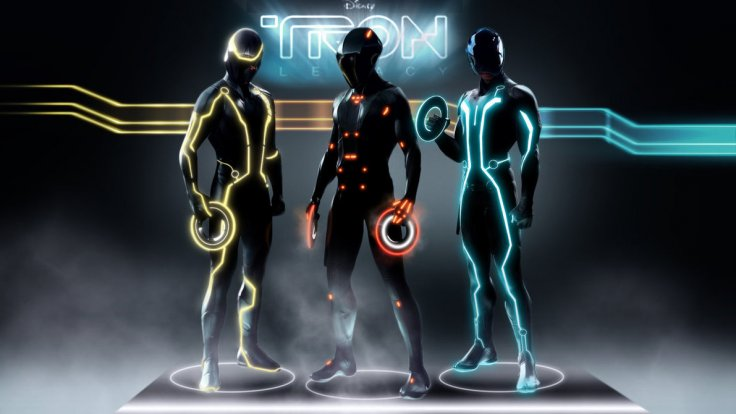 The futuristic Tron: Legacy suits