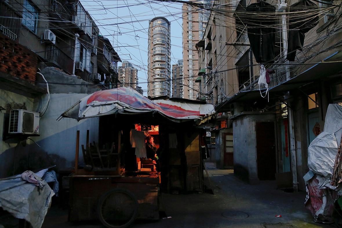 Shanghai nail houses
