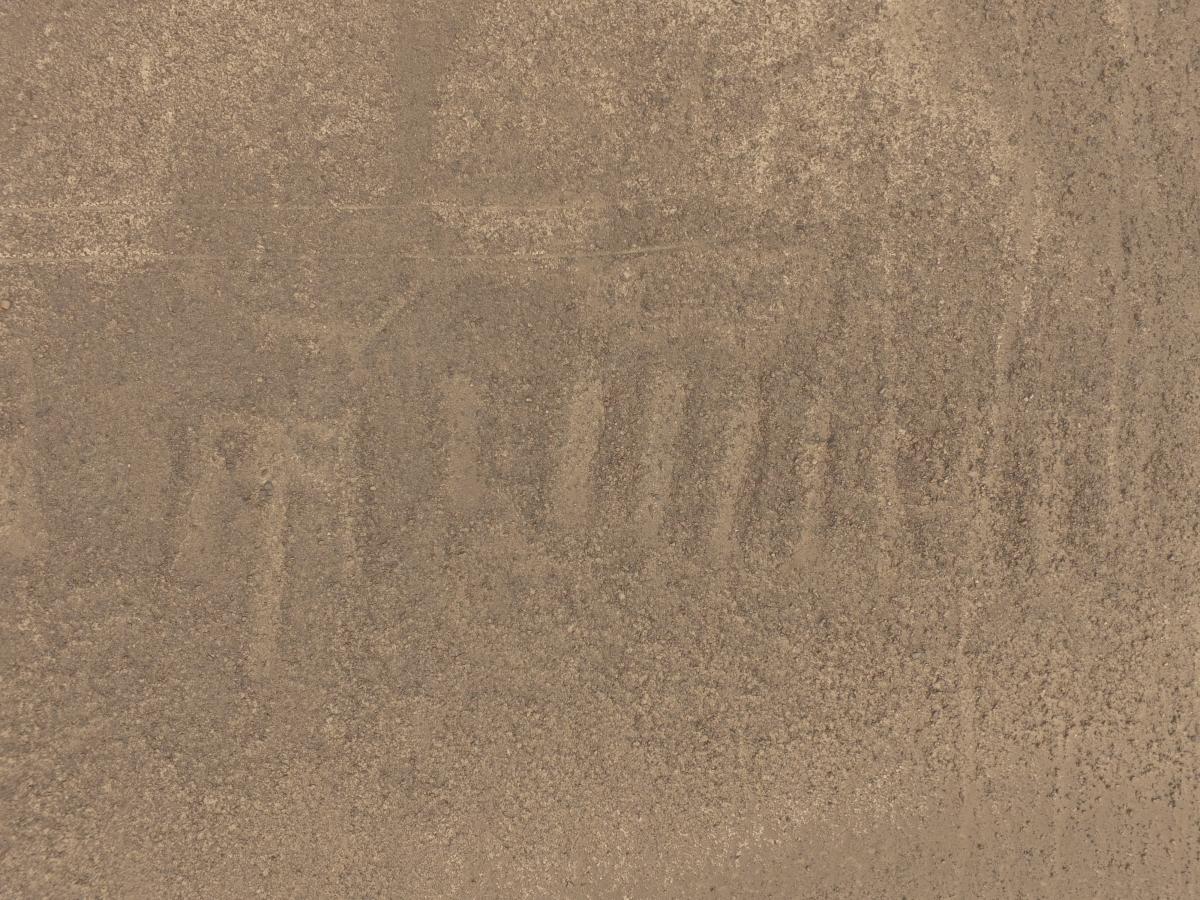 geoglyph in Peru