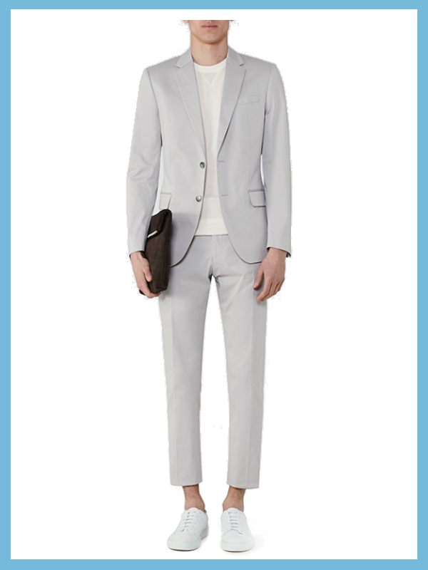 Summer suits: Light fabrics and colours to see you through the summer