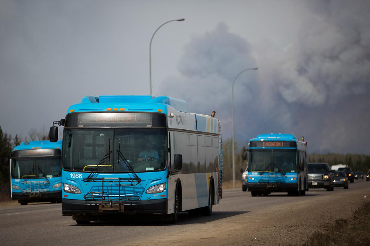 Canada fire Alberta wildfire