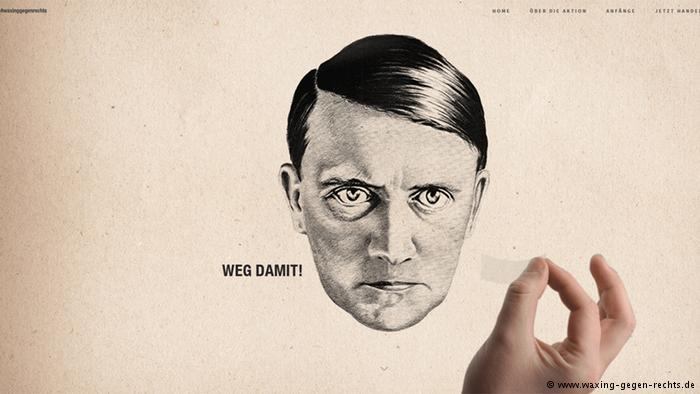 Hitler moustache campaign