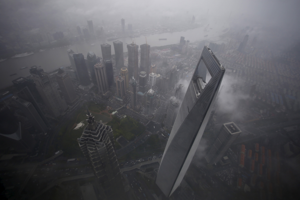 Could China S Financial Hub Soon Be Underwater