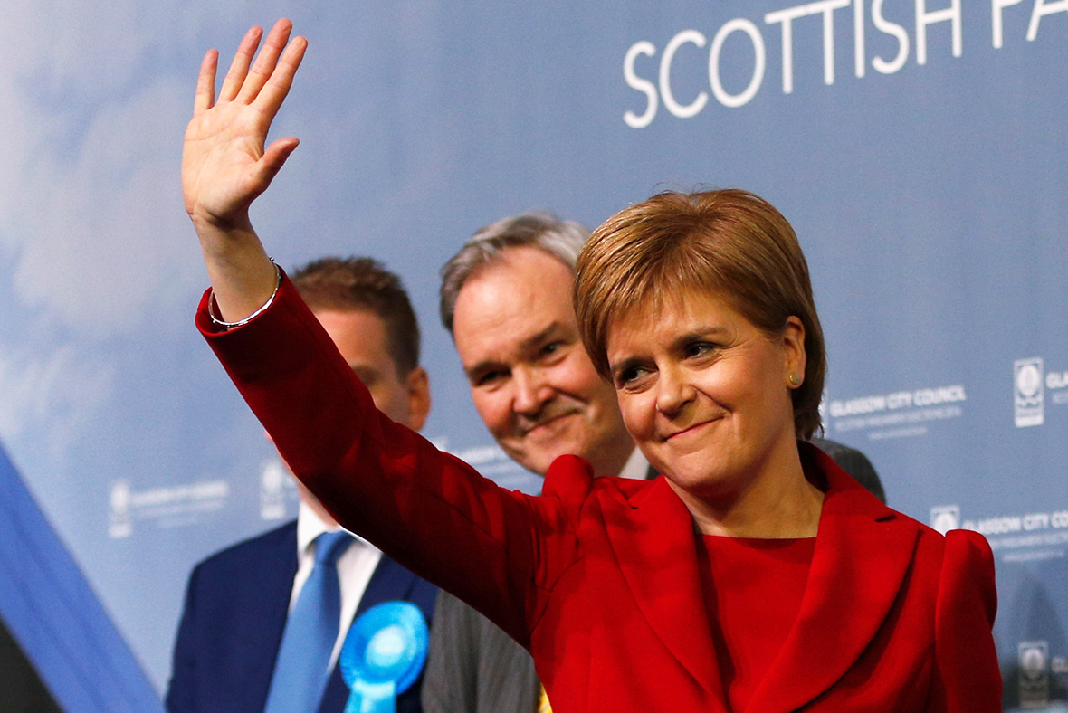 Nicola Sturgeon: Labour support collapse has been staggering
