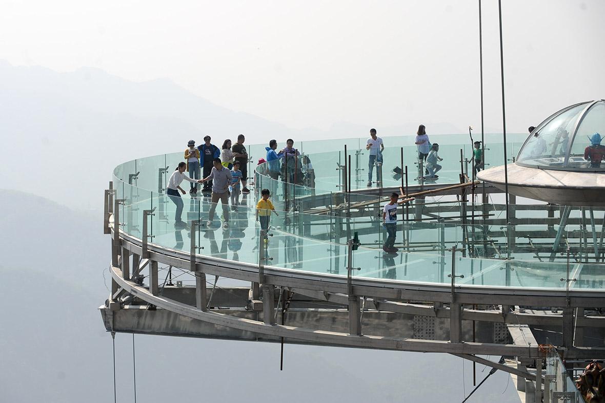Glass viewing platform Shilingxia China