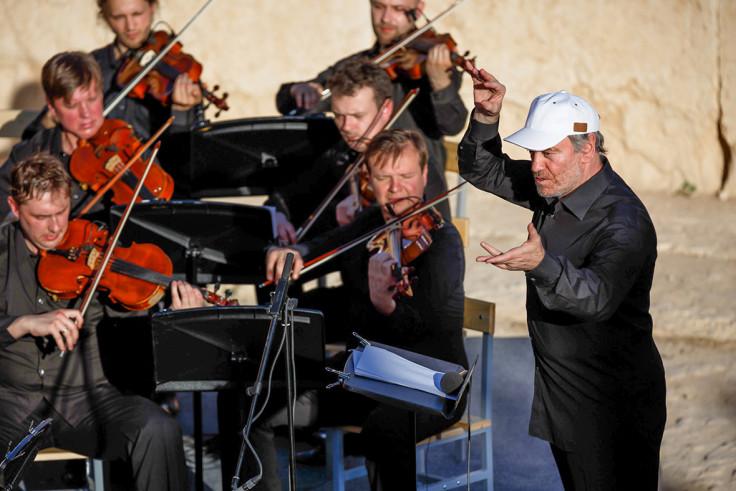 Russian orchestra, Palmyra