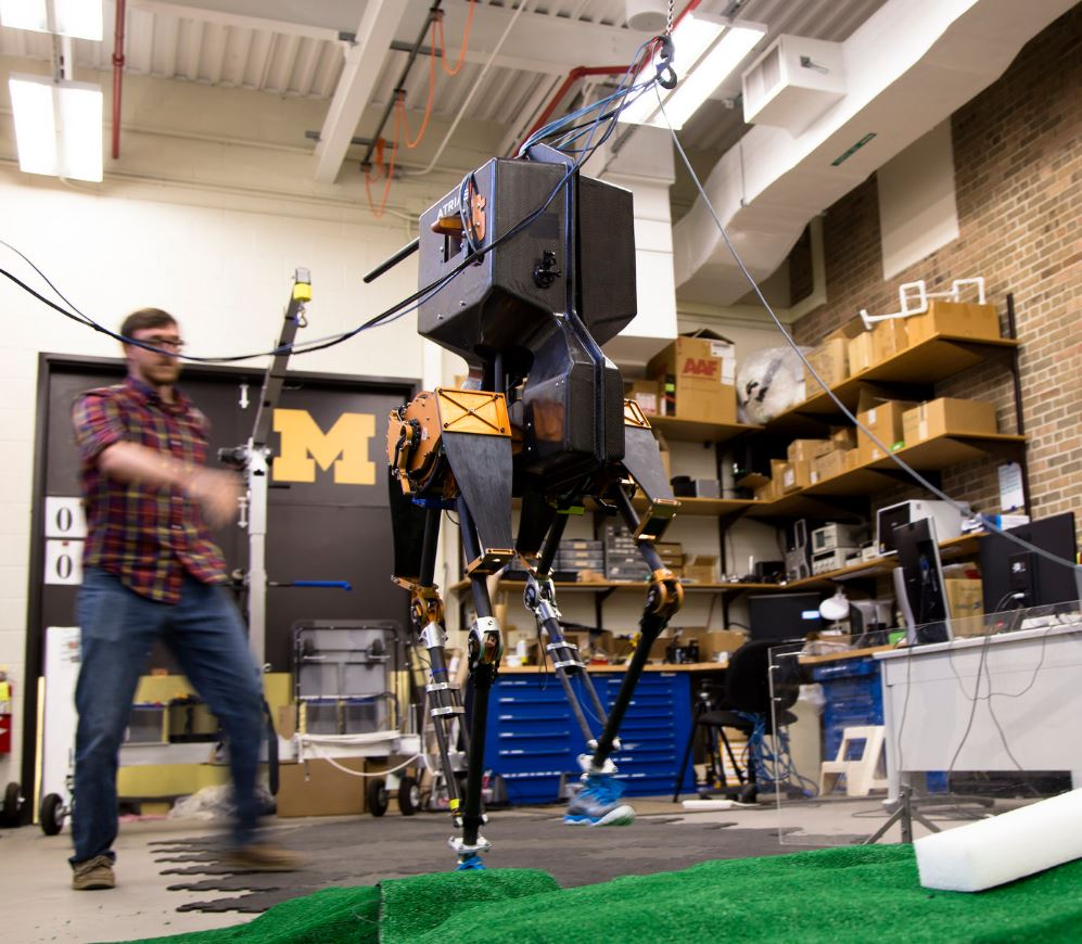 Marlo 3D bipedal robot
