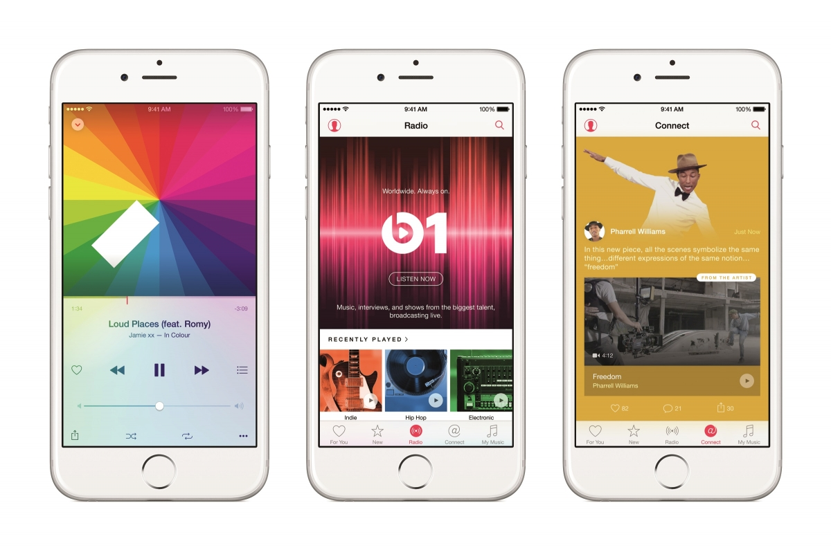 Apple Music on the iPhone 6