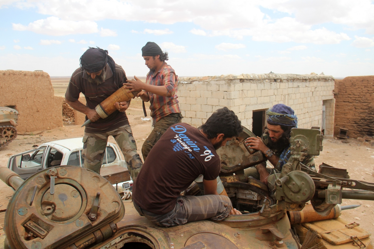 Aleppo rebels regime fighting