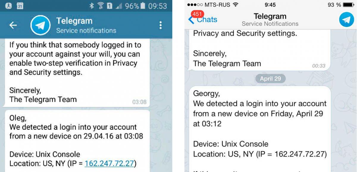 Russia Telegram