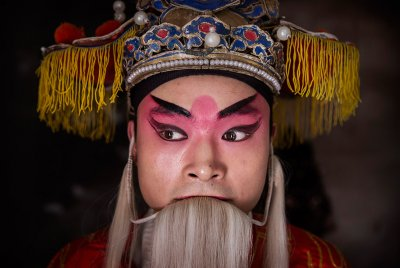 Chinese opera Kevin Frayer