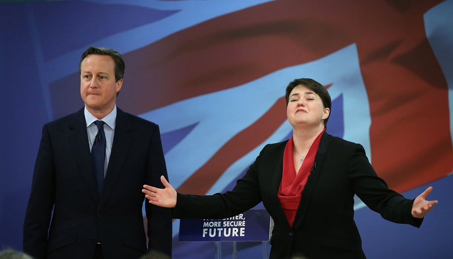 David Cameron and Ruth Davidson
