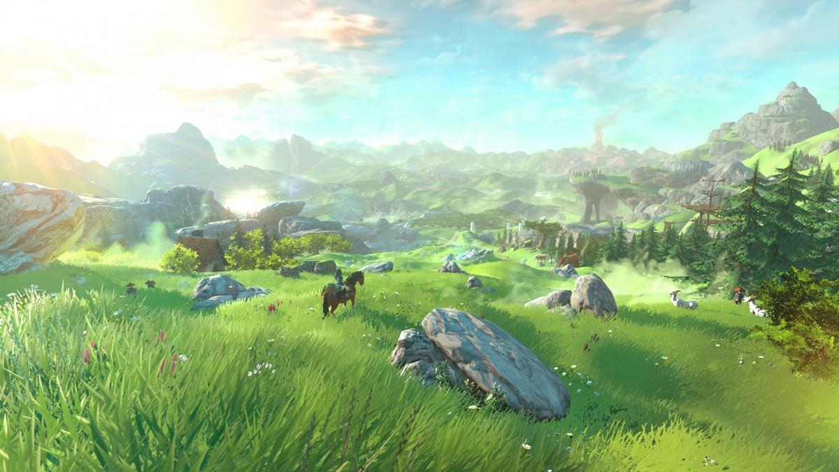The Legend of Zelda Wii U NX