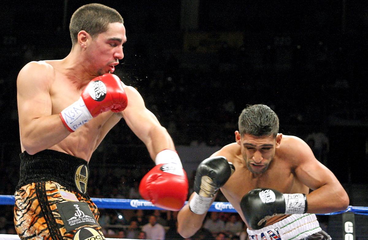 Amir Khan vs Danny Garcia