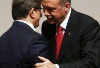 Recep Tayyip Erdogan and Ahmet Davutoglu