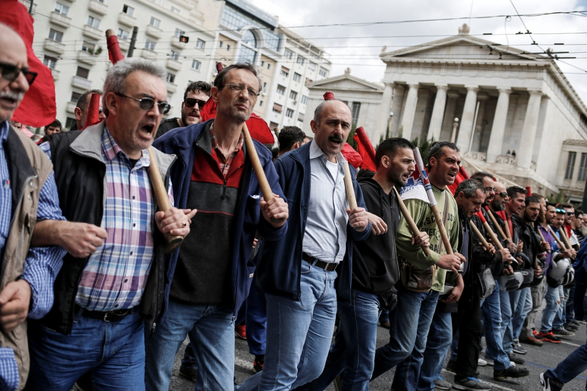 Greece 48-hour strike