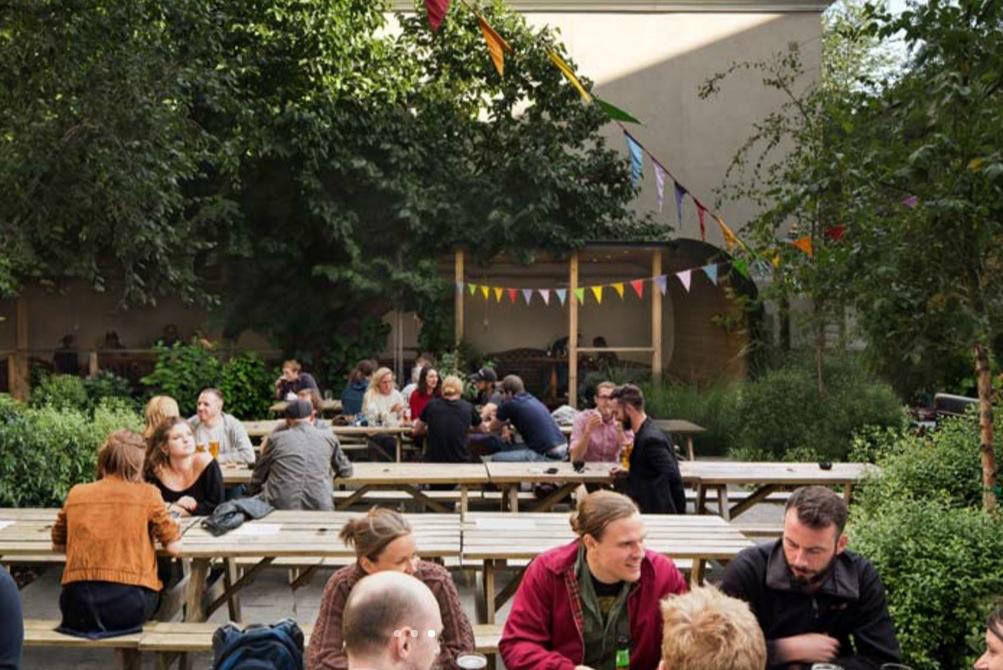 best pub gardens in london