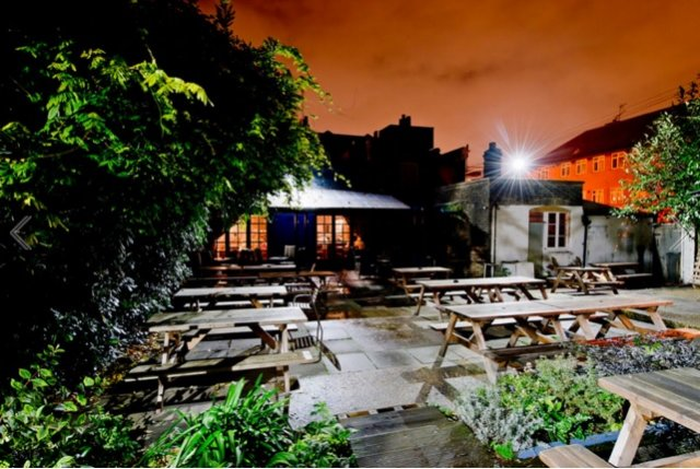 best pub gardens in london