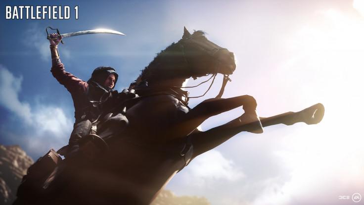 Battlefield 1 horses cavalry