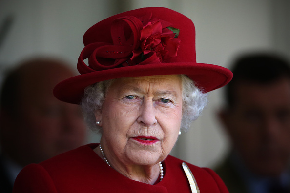 Queen Spitting Image artist unveils another painting of the Monarch