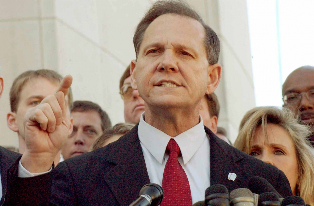 Alabama chief justice Roy Moore