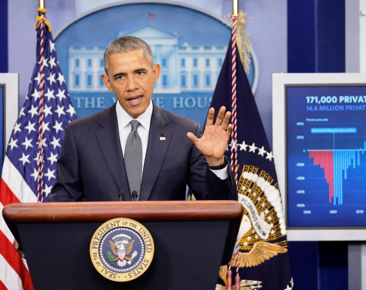 Obama in White House