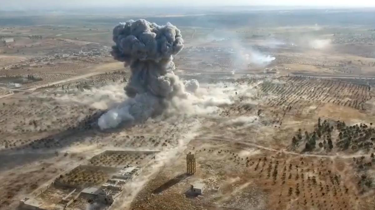 Алеппо. Землетрясение