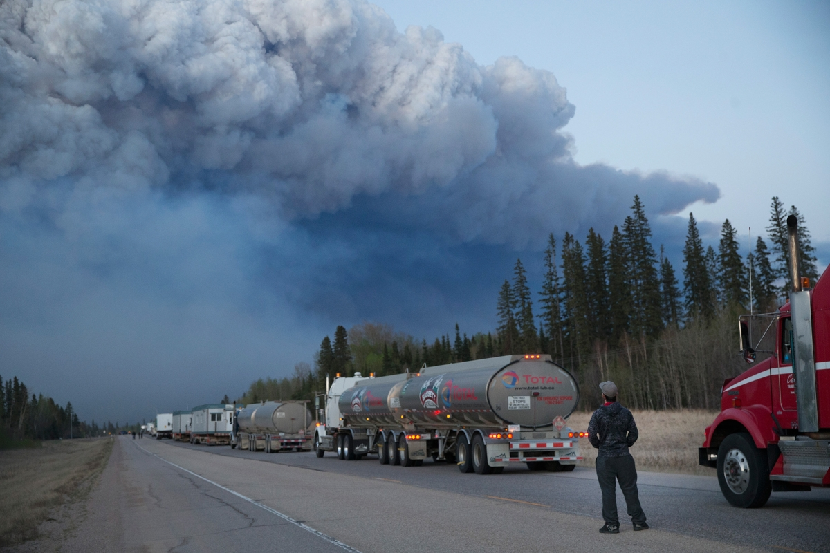 CANADA wildfire