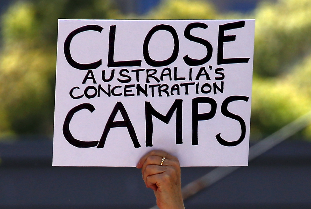 Manus Island Detention Camp