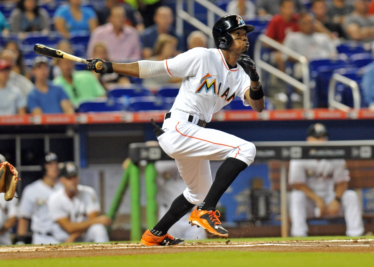 Miami Marlins second baseman Dee Gordon