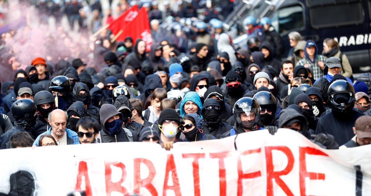 Protests at Alpine Brenner Pass