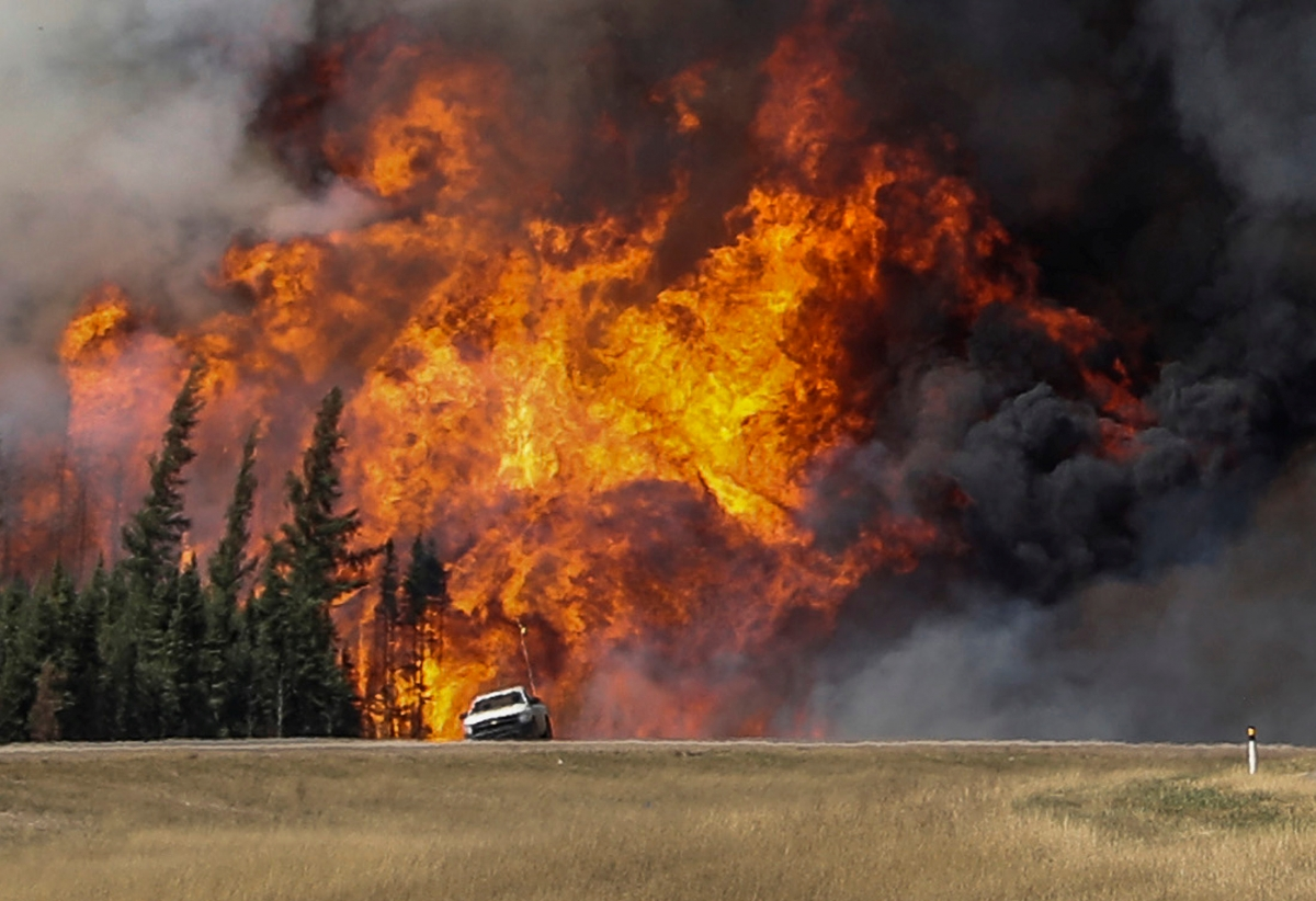 Canada wildfire Fort McMurray, Alberta
