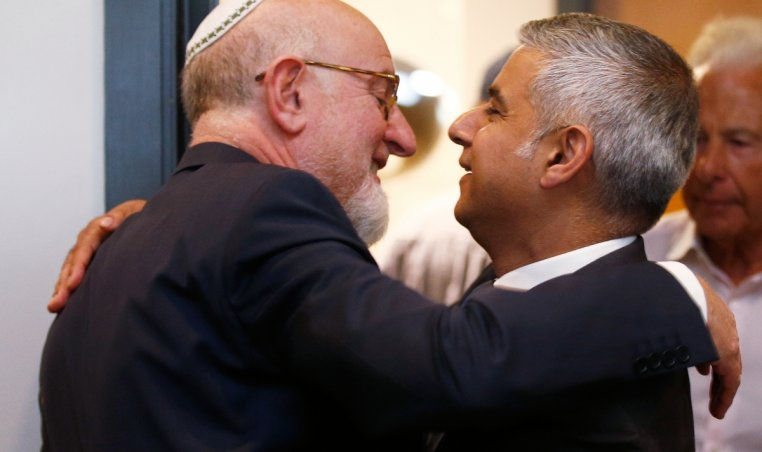 Sadiq Khan holocaust commemoration ceremony