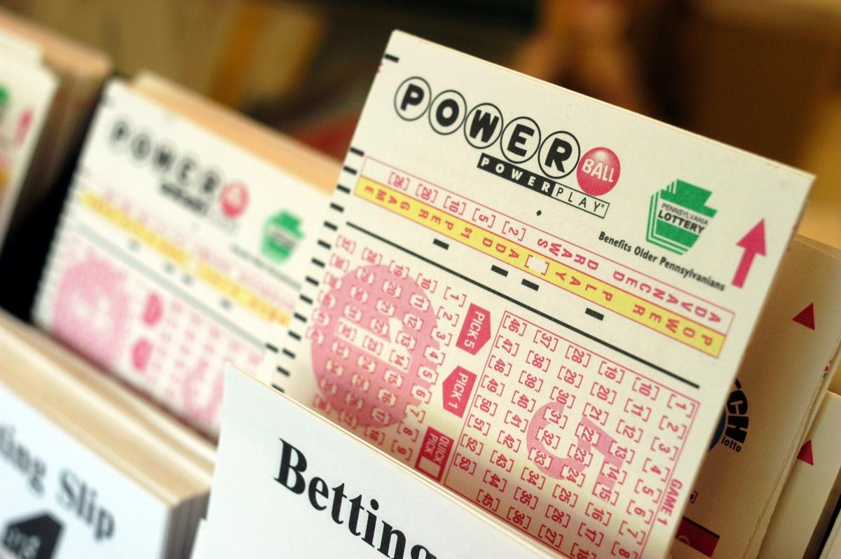 Powerball Winning Lottery Ticket