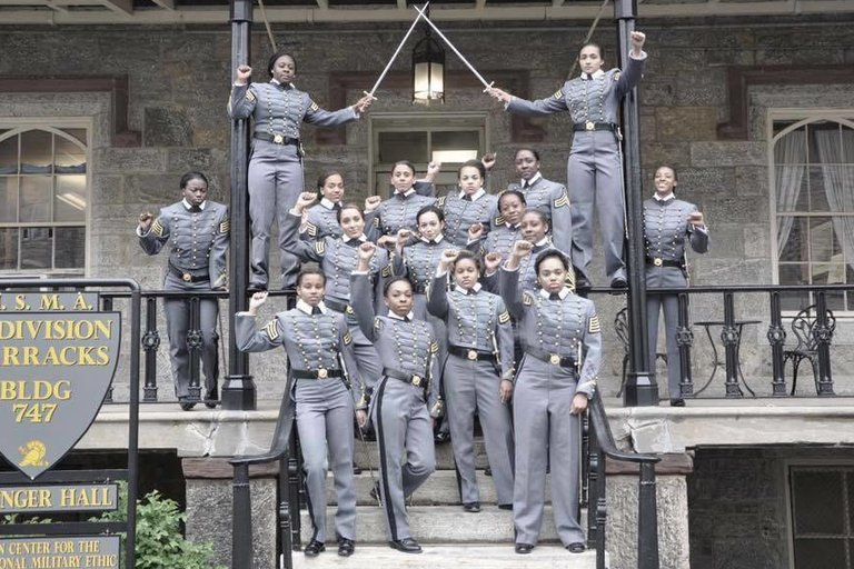 US military academy photo - 16 cadets