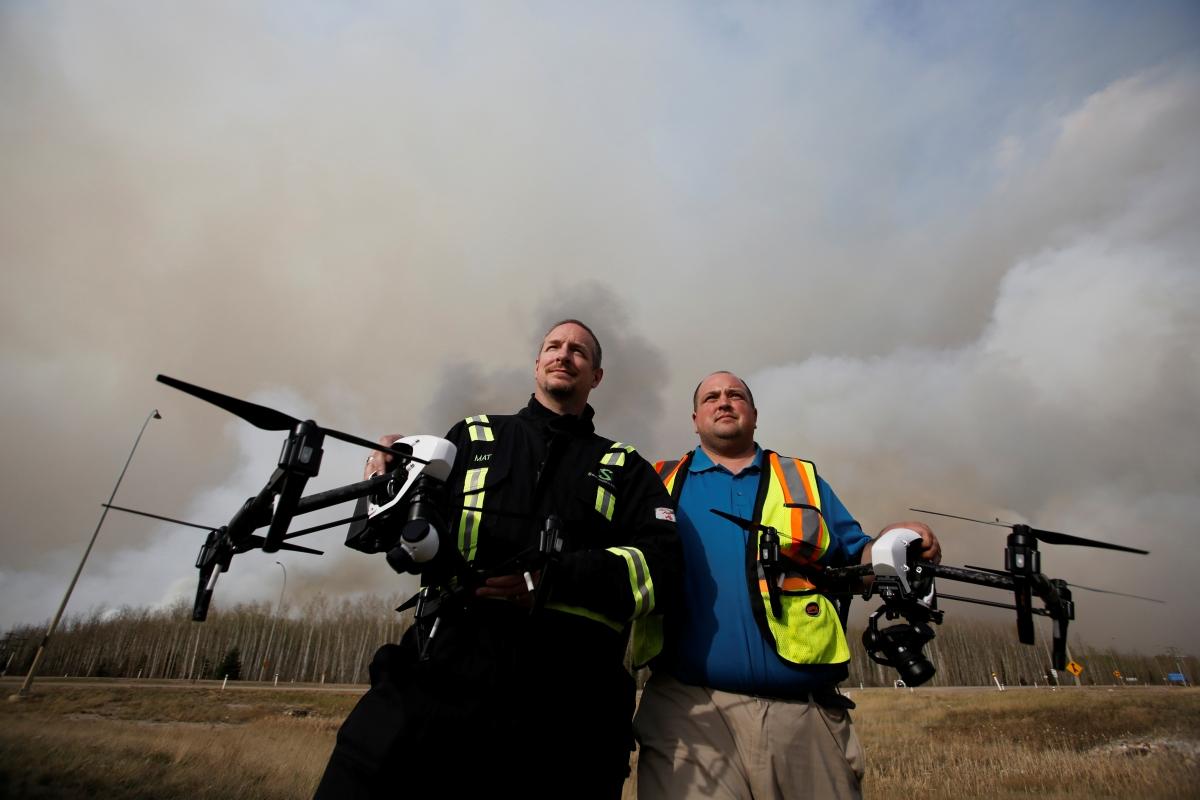 Canada drones