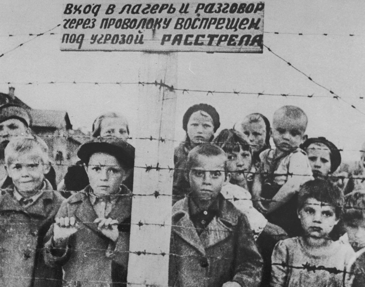 Soviet children WWII