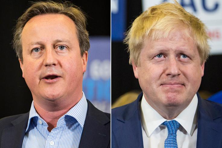 David Cameron, Boris Johnson