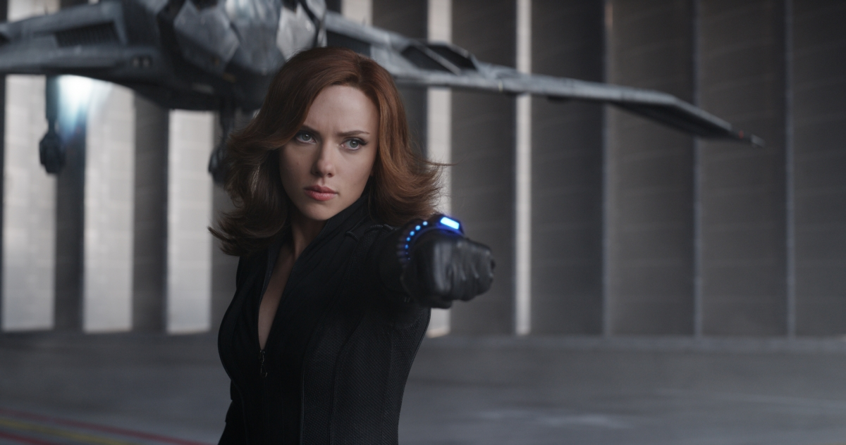 Scarlett Johansson in Captain America: Civil War