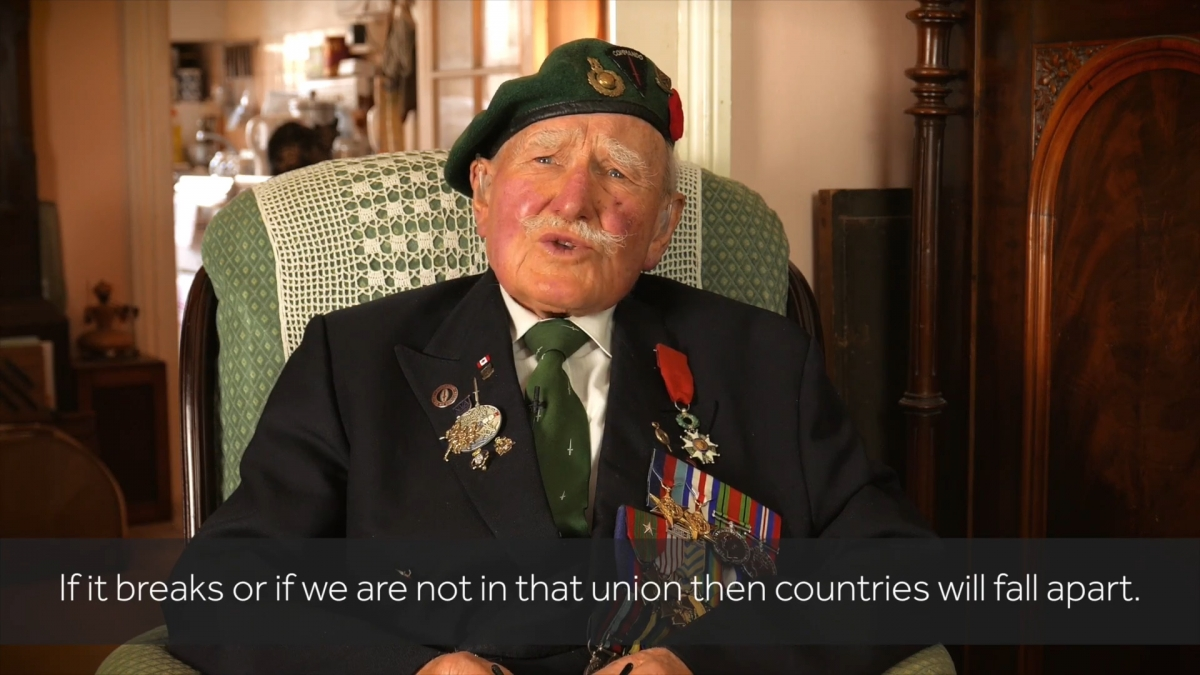 Veterans give their views on Brexit
