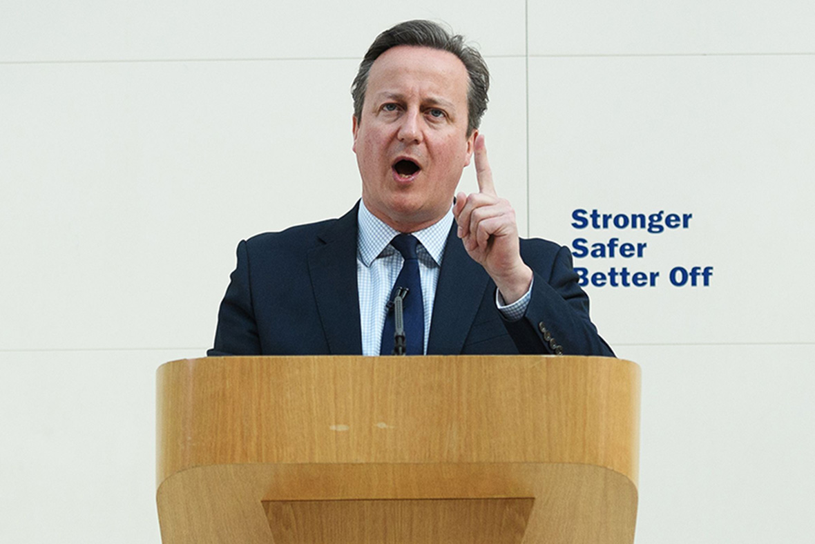 David Cameron, British Museum